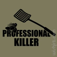 T-shirt Professional Killer