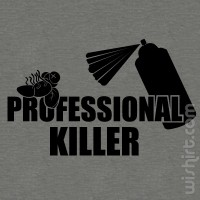 T-shirt Professional Killer V2