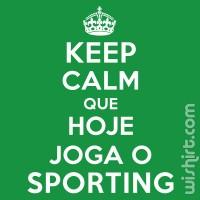 T-shirt Keep Calm Sporting
