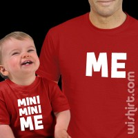 Mini Mini Me - Pai T-shirts