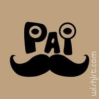 T-shirt Pai Bigode