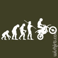 T-shirt Bike Evolution