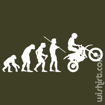 T-shirt Bike Evolution