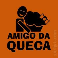 T-shirt Amigo da Queca