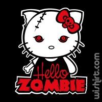 T-shirt Hello Kitty Zombie
