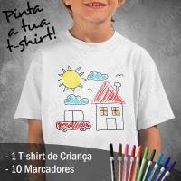 Pinta a tua T-shirt