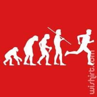 T-shirt Evolution of Running