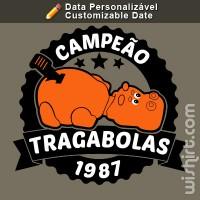 T-shirt Campeão Tragabolas