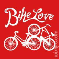 T-shirt Bike Love