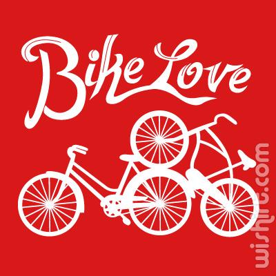 T-shirt Bike Love