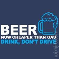 T-shirt Beer Now Cheaper