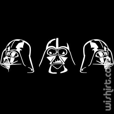 T-shirt Dark Lord Darth Vader Profile