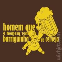 T-shirt Barriguinha de Cerveja