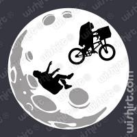 T-shirt E.T. dropped the kid