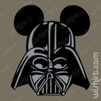 T-shirt Mickey Darth Vader
