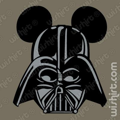 T-shirt Mickey Mouse Darth Vader