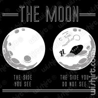 T-shirt The Moon
