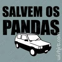 T-shirt Salvem os Pandas