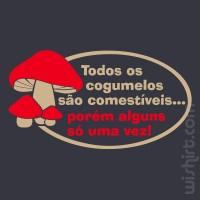 T-shirt Cogumelos