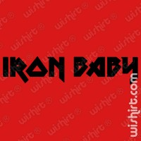 T-shirt Iron Baby