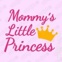 T-shirt Mommy's Princess