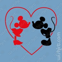 T-shirt Mickey Minnie Love