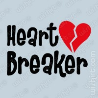 T-shirt Bebé Heart Breaker