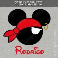 T-shirt Mickey Pirata
