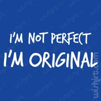 T-shirt I'm not Perfect