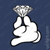 T-shirt Mickey Hands Diamond