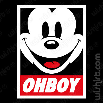 T-shirt Mickey Mouse OhBoy