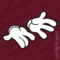 T-shirt Mickey Open Hands