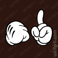 T-shirt Mickey Fist Point