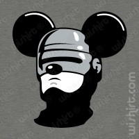 T-shirt Mickey Mouse Robocop