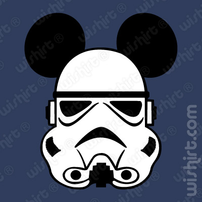 T-shirt Mickey Mouse Storm Trooper