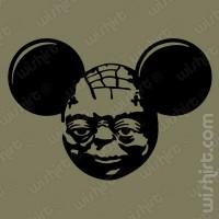 T-shirt Mickey Mouse Yoda