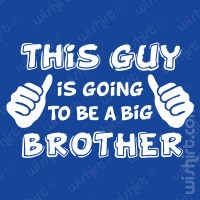T-shirt Going to be a Big Brother