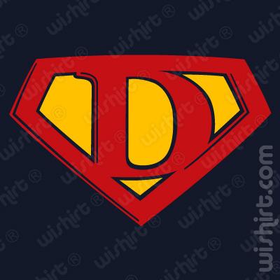 T-shirt D - Super Dad