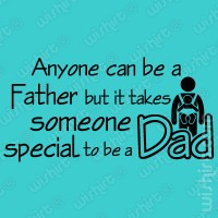 T-shirt Someone Special Dad