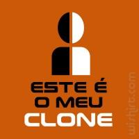 T-shirt Este é o meu Clone