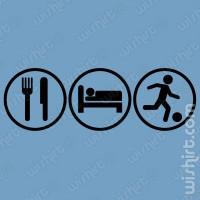 T-shirt Eat Sleep Kick
