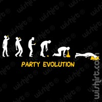 T-shirt Party Evolution