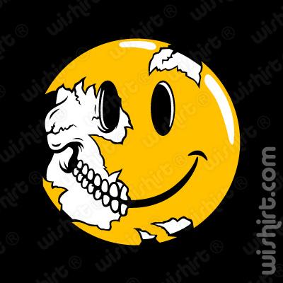 T-shirt Smile Skull