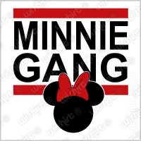 T-shirt Minnie Gang