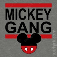 T-shirt Mickey Gang
