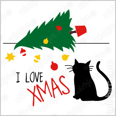 T-shirt I Love Christmas