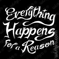 T-shirt Everything happens