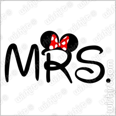 T-shirt Mrs Minnie