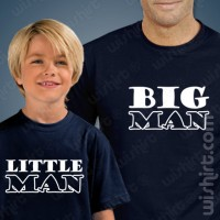 Big Man Little - Criança T-shirts