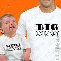 Big Man Little - Bebé T-shirts